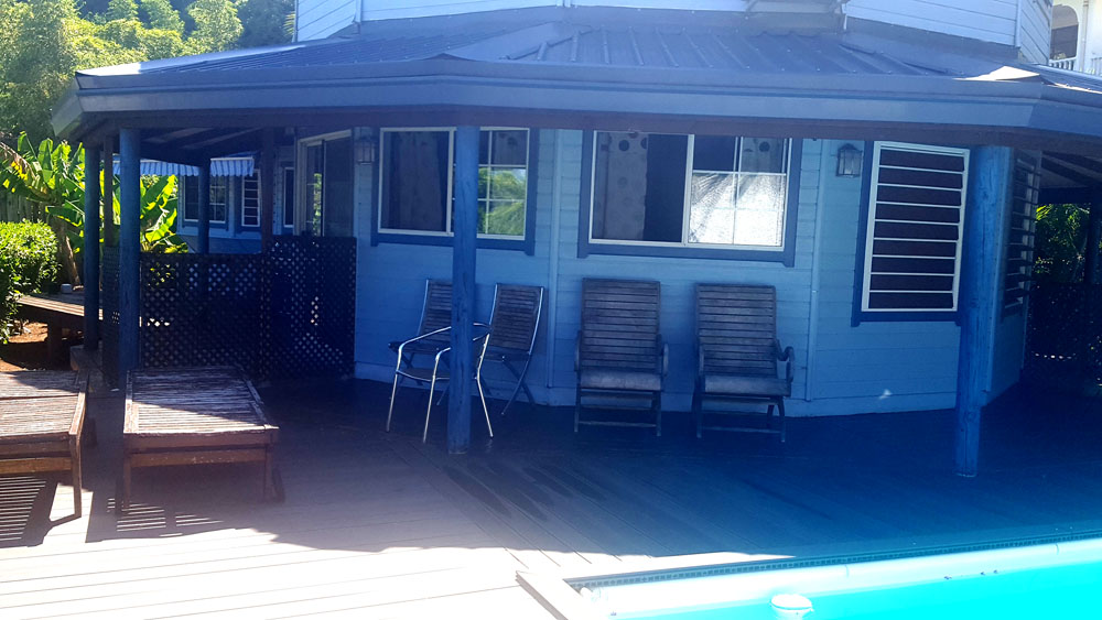 Pirae maison de type finlandaise de type t5 4 chambres for Acheter une maison a tahiti