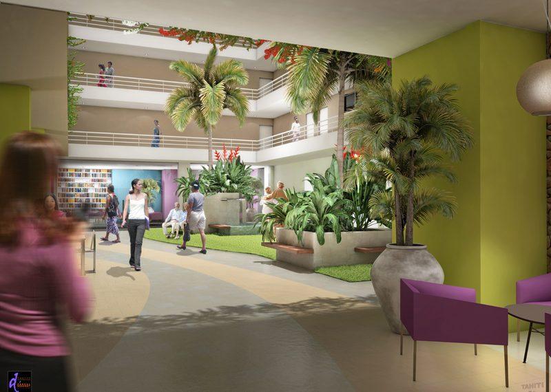 residence NEW MAHANA SENIORS ATIKE IMMOBILIER TAHITI