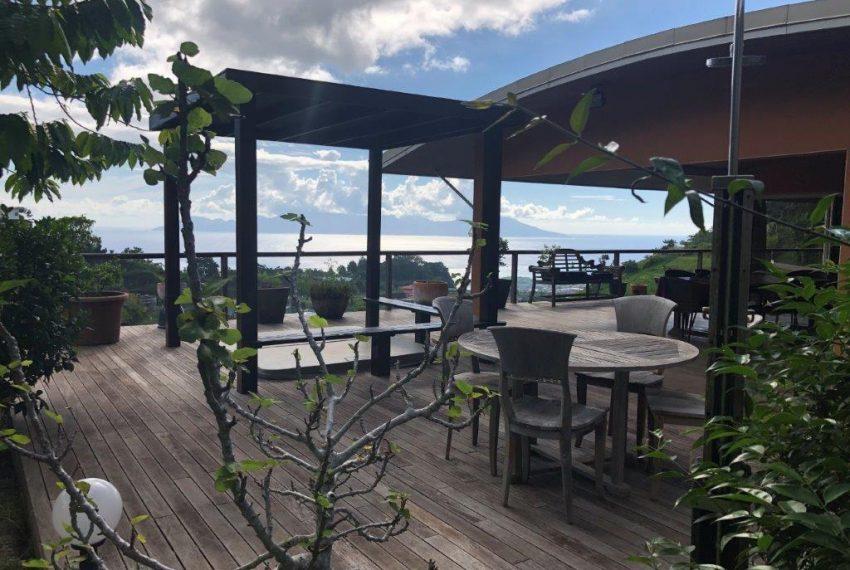 a vendre maison punaauia tahiti vue mer
