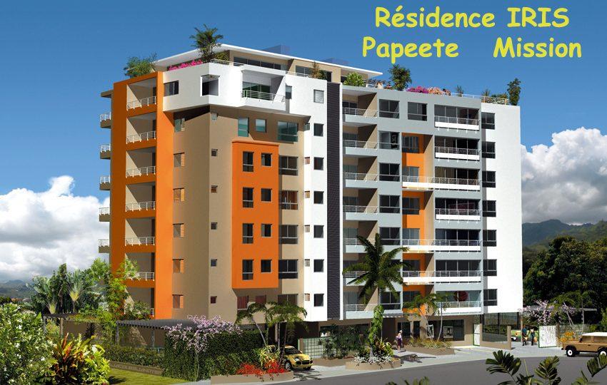 residence iris papeete la mission atike immobilier tahiti agence