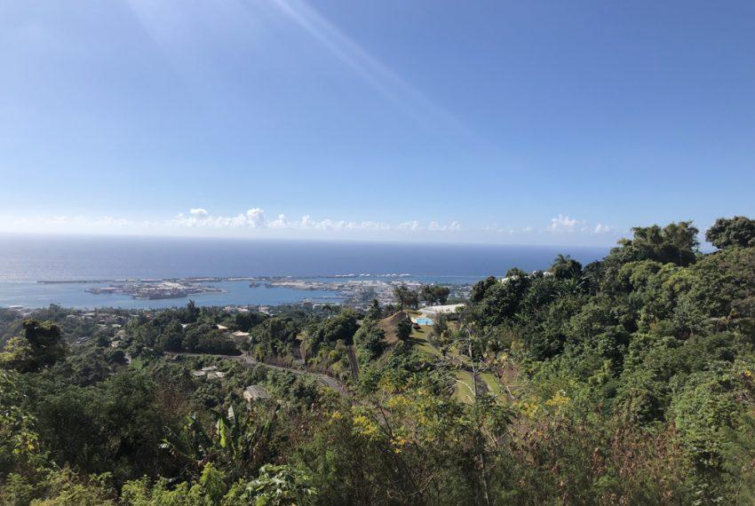 Papeete A louer grand studio avec vue mer